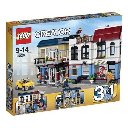 Lego Creator 31026 Sklep Rowerowy i Kafejka 3w1