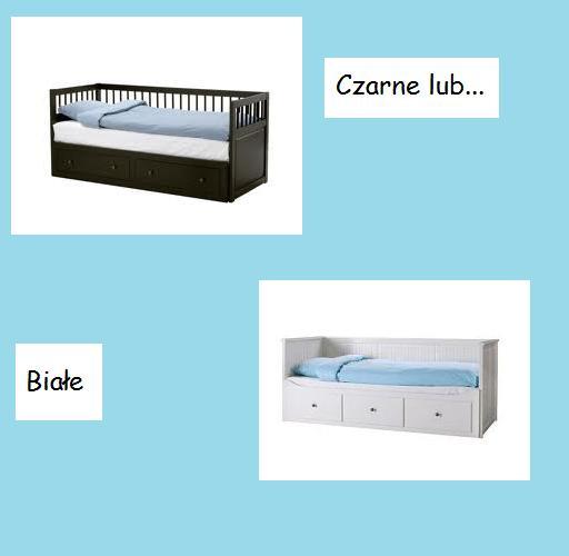 Łóżko z IKEI