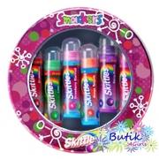 Zestaw 6 balsamów do ust Smackers® o smakach cukierków Skittles™