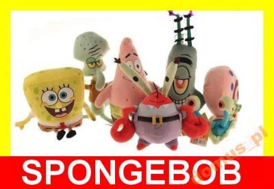 MASKOTKA z bajki SPONGEBOB 6 rodzaji licencja !!!