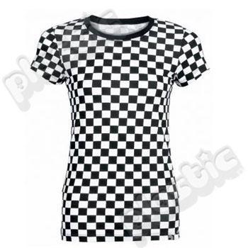 Koszulka w szachownicę