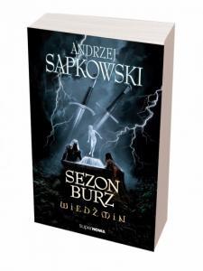 WIEDŹMIN SEZON BURZ Sapkowski PRZEDsprzedaż TANIEJ