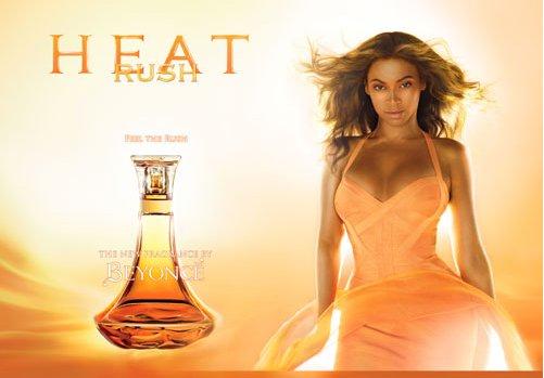 Perfum Beyonce Heat Rush (pomarańczowy)