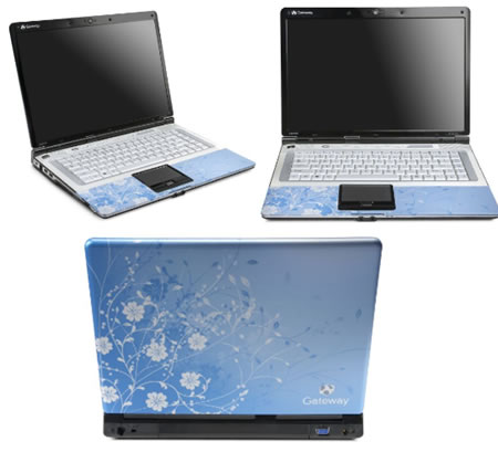 Geteway M151X Artic Bloom Laptop