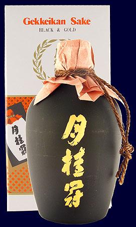 Black & Gold - Gekkeikan Sake