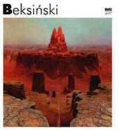 album z pracami Beksińskiego