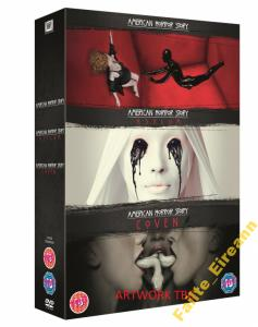 AMERICAN HORROR STORY (SEASONS 1,2,3) (12 DVD)