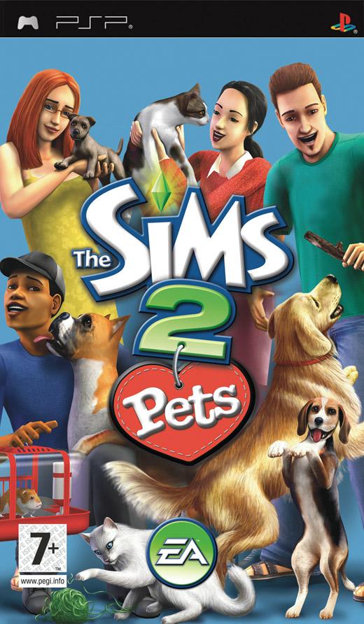 The Sims 2 ZWIERZAKI na PSP