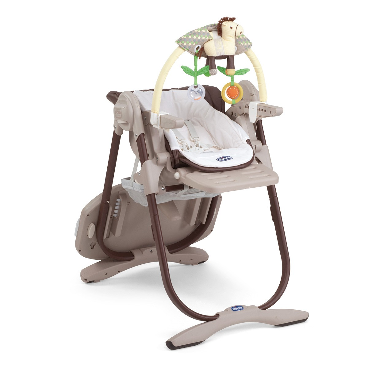 Krzesełko do karmienia Polly Magic 3w1