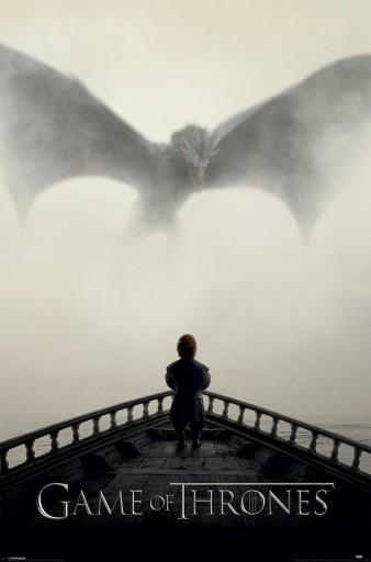 Gra o Tron Tyrion Lew i Smok - plakat