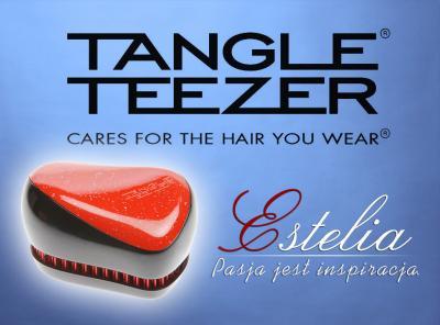 Szczotka Tangle Teezer Compact Sweetheart czerwona