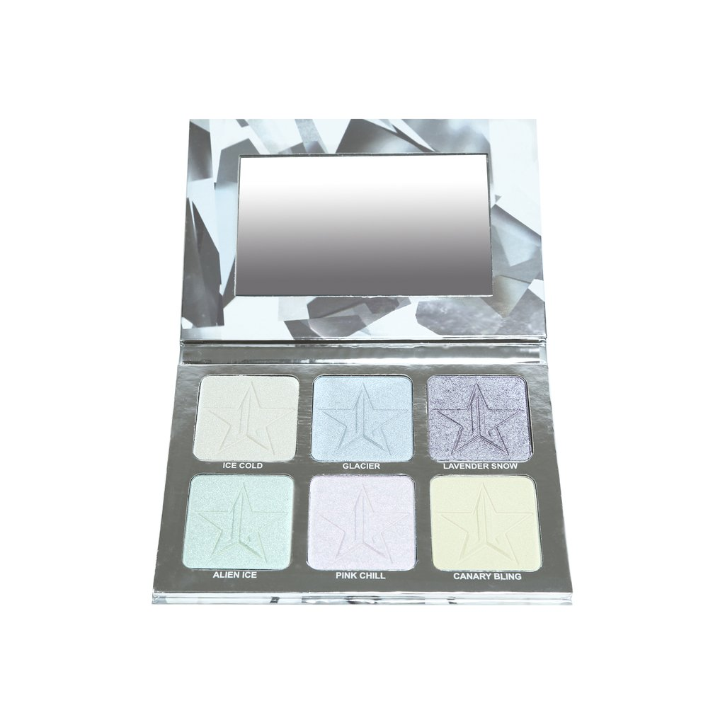 PLATINUM ICE PRO PALETTE highlighter j.star