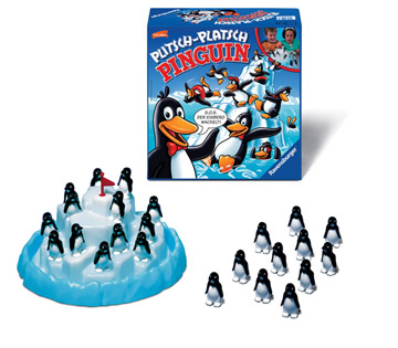 Gra Wyścig pingwinów RAVENSBURGER