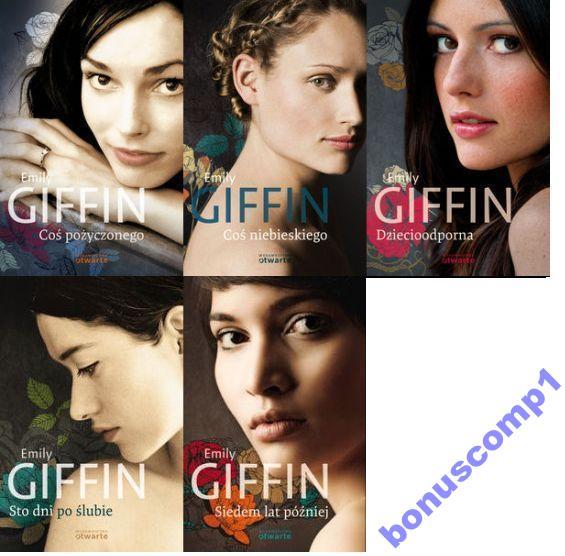 Emily Griffin - seria 5 książek