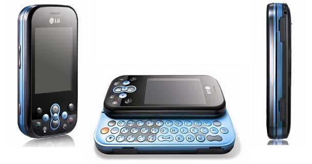 telefon  LG  KS360 niebieski lub różowy