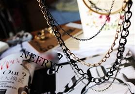 Naszyjnik z łańcuszków