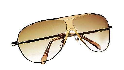 Okulary H&M, złote