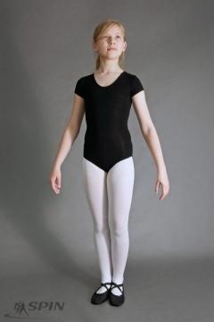 Czarne baletowe body (176 cm)