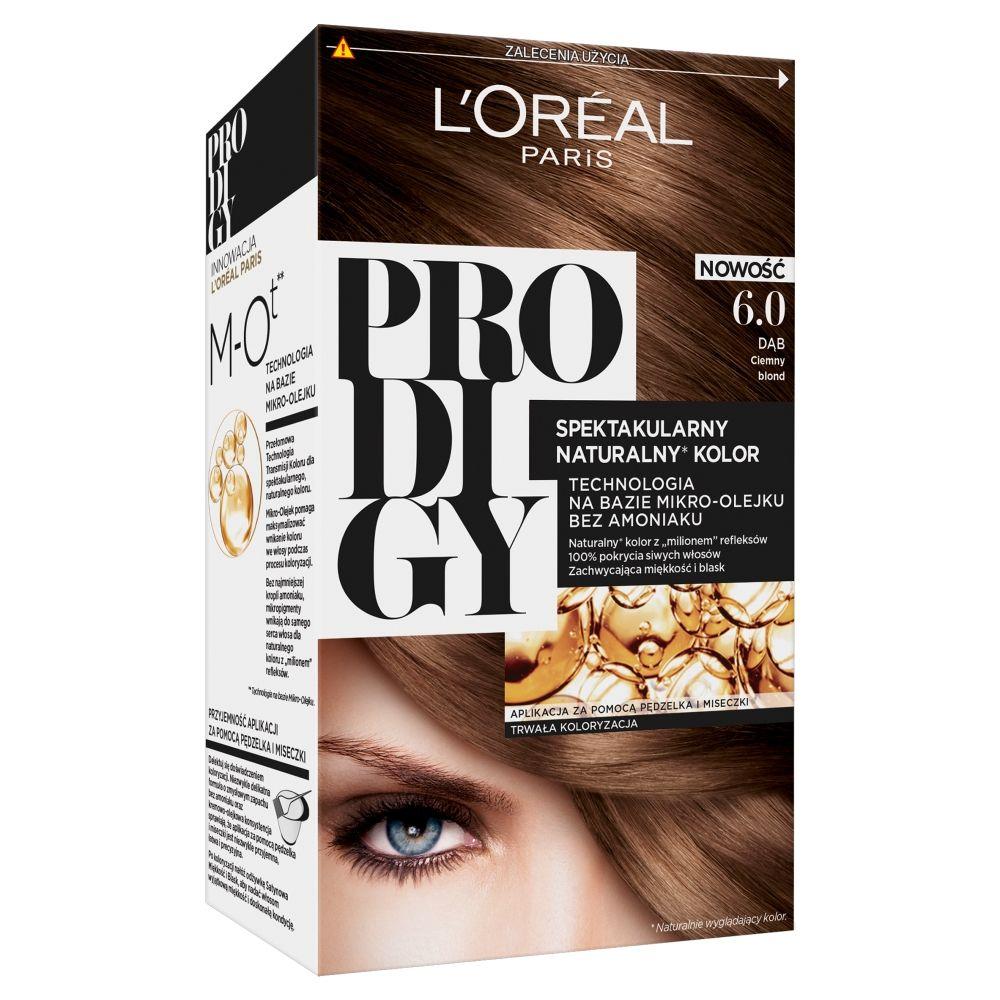 Prodigy farba do włosów 6.0 Dąb