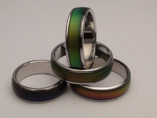 Pierścionek zmieniajacy kolor