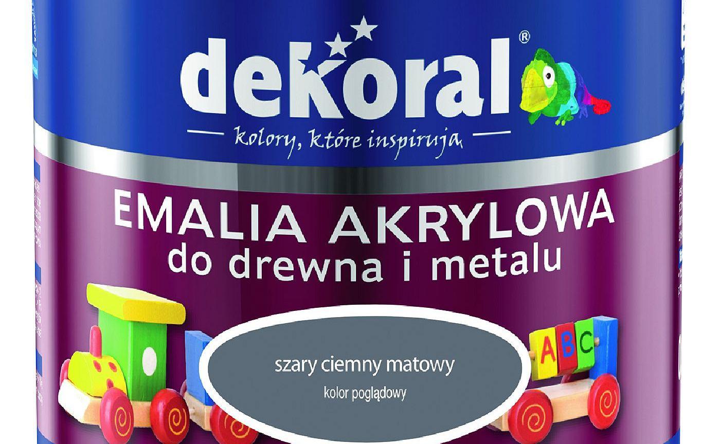 Produkty do drewna i metalu Dekoral
