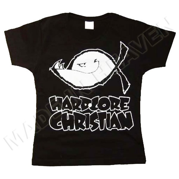 T-shirt HARDCORE CHRISTIAN :: Made In Heaven