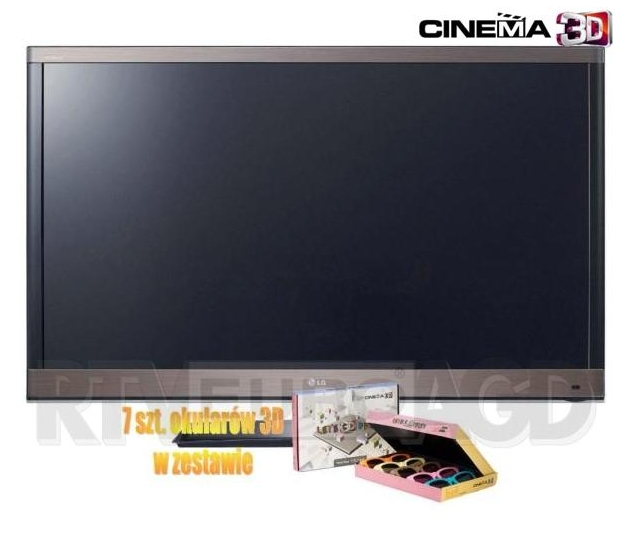 Telewizor LG 42LW570S + 7 x okulary 3D