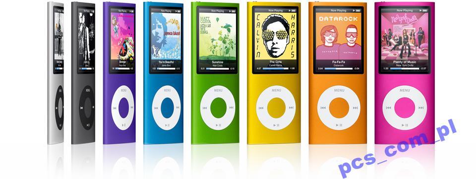 iPod nano 4gen 8GB srebrny/niebieski/fiolet WAWA
