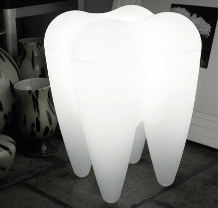 Lampa ząb