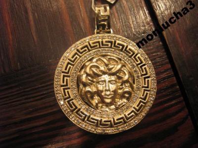 Złoty wisior