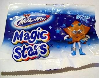 Czekoladowe gwiazdki Milky Way!