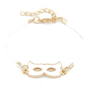 -ILOKO- BRANSOLETKA WHITE CAT MASK