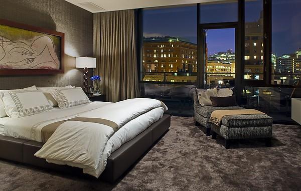 Apartament z panoramą na miasto