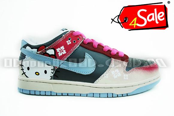 nike dunk low hello kitty