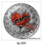 Przypinka fuck love