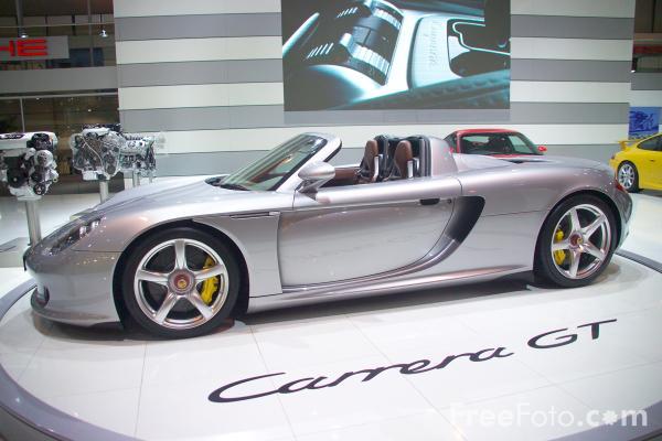 Porsche Carrera GT (Sportowy / Coupe)