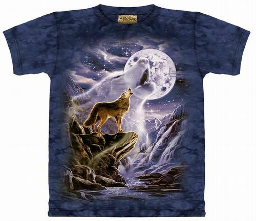 koszulka The Mountain-Wolf Spirit moon (101293 ) KMON-079