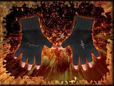 rękawiczki bez palców Nightwisha