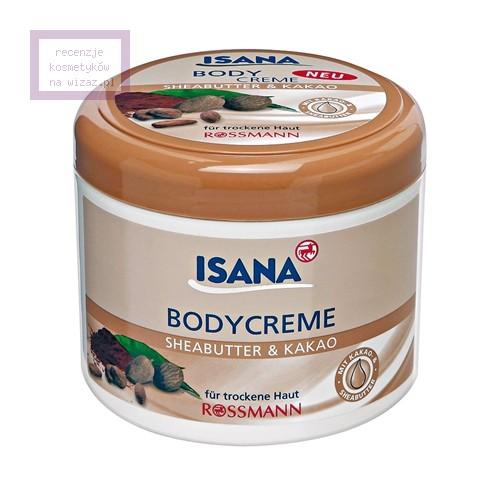 Rossmann, Isana, Body Creme Sheabutter & Kakao (Krem do ciała z masłem shea i kakao)