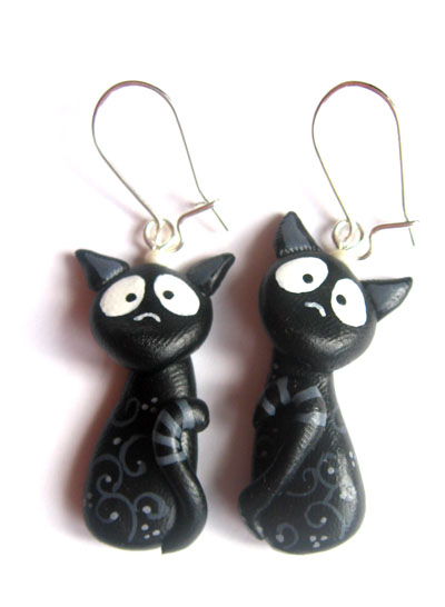 Kolczyki w koty
