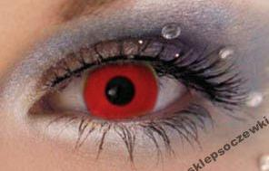 czerwone soczewki