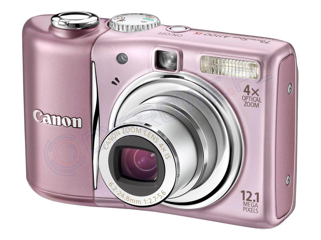 Różowy aparat fotograficzny ^^