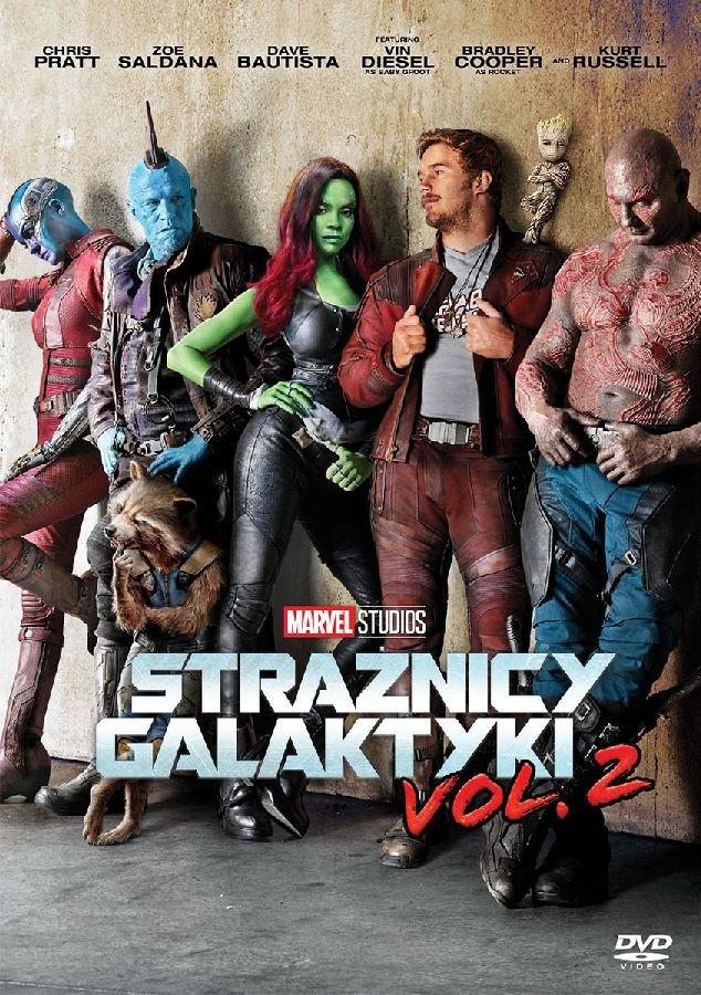 Strażnicy Galaktyki 2 DVD