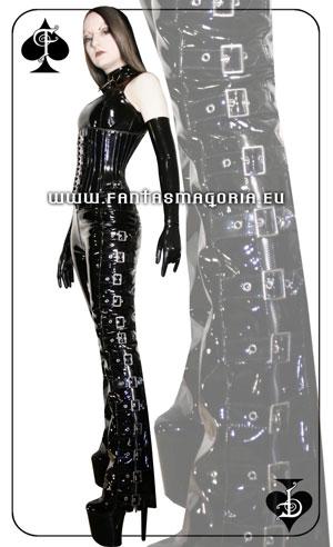 Spodnie skórzane Pain Mistress od FantasmAgorii