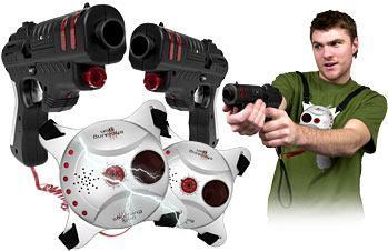 szokujące pistolety