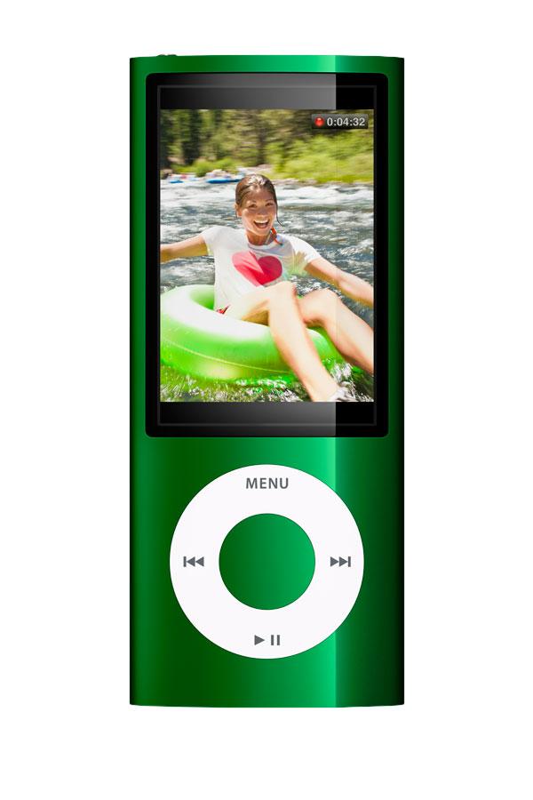 Zielony Ipod nano 8G 5 generacji