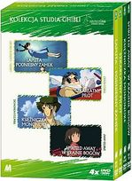 STUDIO GHIBLI - ANIME (KOLEKCJA 3) 4 DVD BOX