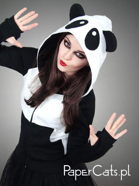 panda-kun hoodie ^^