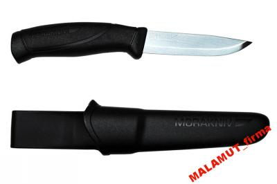 Nóż MORA COMPANION BLACK Stal nierdzewna NOWY ....