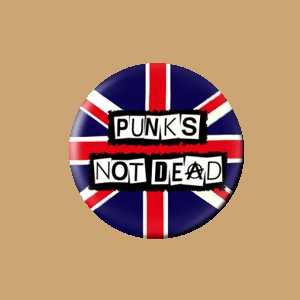 Przypinka PUNKS NOT DEAD